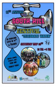 South Hill Festival Poster