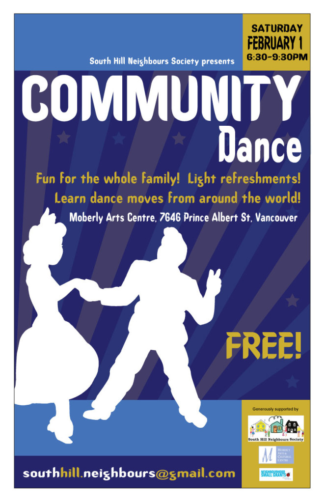 Feb 1 Community Dance
