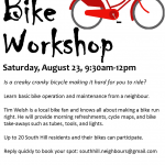 Bike Workshop Aug 23