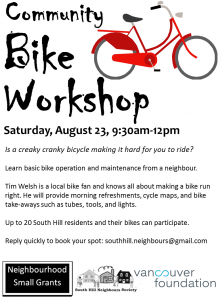 Bike Workshop 14